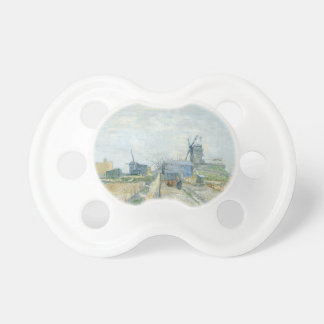 Montmartre: windmills and allotments pacifier