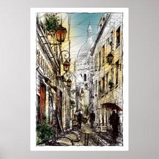Montmartre XI Poster