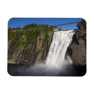 Montmorency Falls near Quebec City. Rectangular Photo Magnet