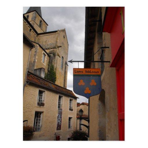 Montmorillion France Postcard