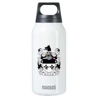 Montó el escudo de armas botella isotérmica de agua