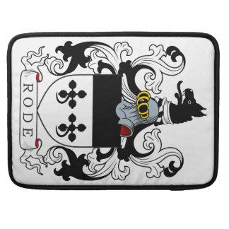 Montó el escudo de armas funda macbook pro