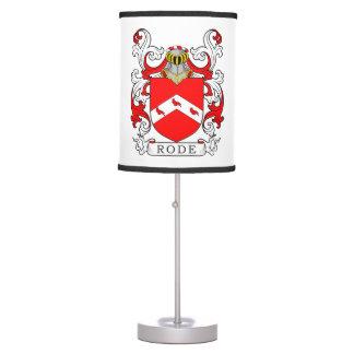 Montó el escudo de armas II Lámpara De Mesilla De Noche