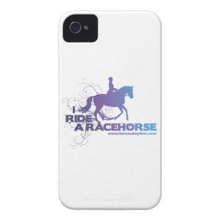 Monto una caja del iPhone 4 del caballo de carrera iPhone 4 Case-Mate Cárcasa