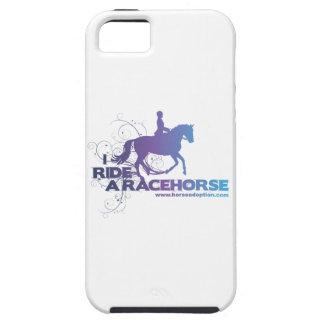 Monto una caja del iPhone del caballo de carreras iPhone 5 Case-Mate Carcasas