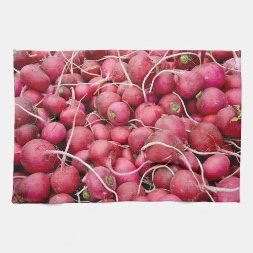 Montón del rábano maduro /Turnips Toallas De Mano