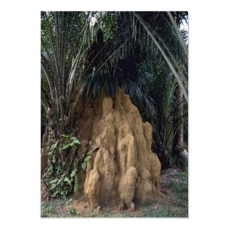 Montón gigante de la termita del bosque