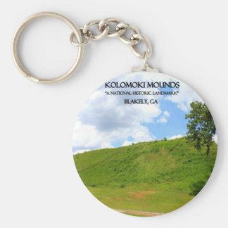 MONTONES de KOLOMOKI - Blakely, Georgia Llaveros Personalizados