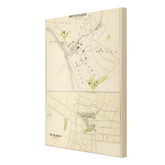 Montpelier and St Albans Canvas Print