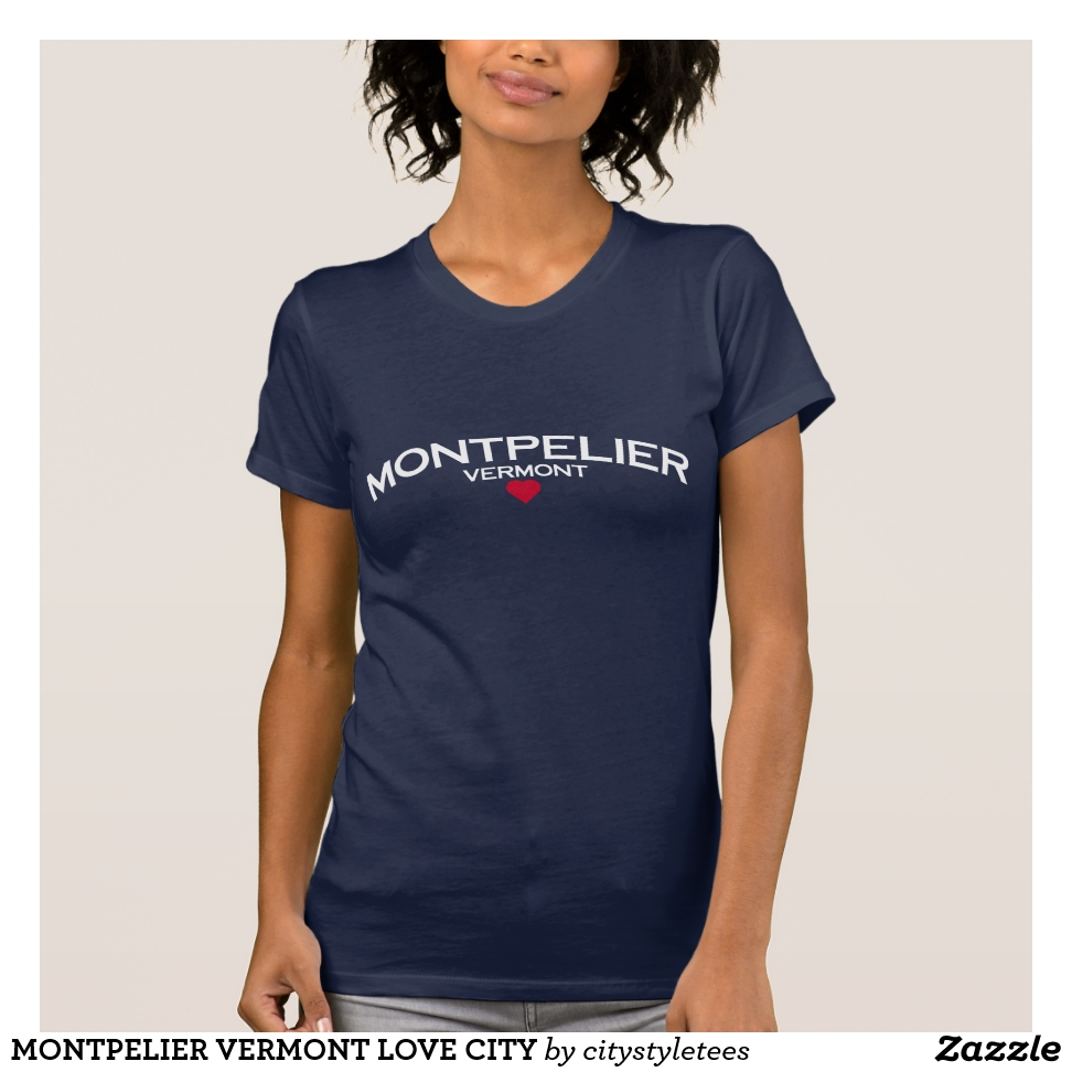 MONTPELIER VERMONT LOVE CITY T-Shirt - Best Selling Long-Sleeve Street Fashion Shirt Designs