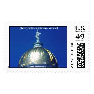 Montpelier, Vermont Postage Stamp