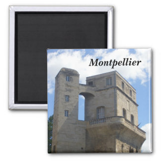 Montpellier - 2 inch square magnet
