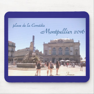 Montpellier mouse mat 2016 France Mouse Pad