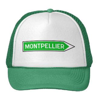 Montpellier, señal de tráfico, Francia Gorras De Camionero