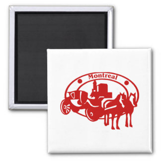 Montreal 2 Inch Square Magnet
