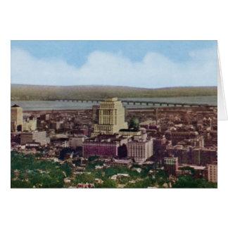 Montreal Canada Birdseye View Card