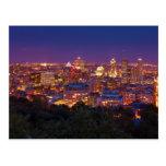 Montreal Canada City Skyline Belvedere Kondiaronk Post Cards
