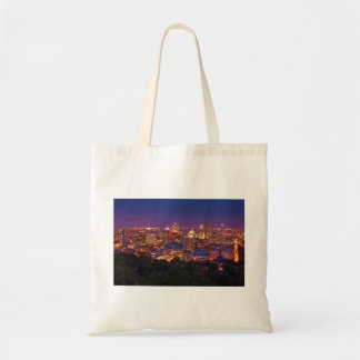 Montreal Canada City Skyline Belvedere Kondiaronk Tote Bag