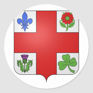 Montreal , Canada Classic Round Sticker