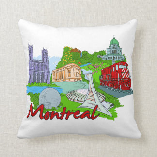 Montreal - Canada.png Throw Pillow