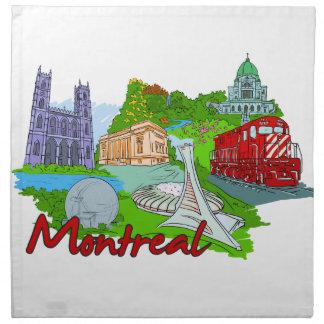 Montreal - Canada.png Servilletas Imprimidas