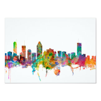 Montreal Canada Skyline Personalised Announcement