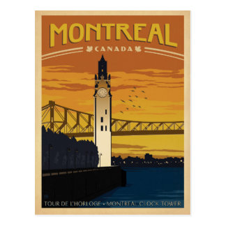 Montreal, Canadá Tarjeta Postal