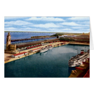 Montreal Canada Victoria Pier and Harbor Card