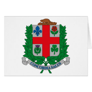 Montreal Coat of Arms Greeting Card