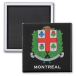 Montreal *Coat of Arms Magnet Refrigerator Magnets