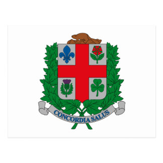 Montreal Coat of Arms Postcard
