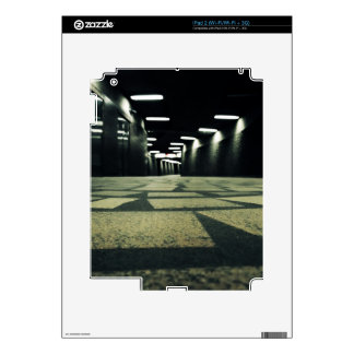 Montreal - corridors of metro iPad 2 skins