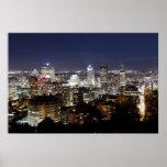Montreal en la noche impresiones