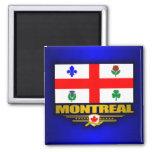 Montreal Flag Fridge Magnet