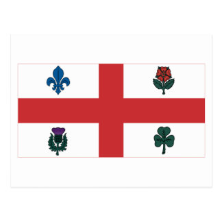 Montreal Flag Post Cards