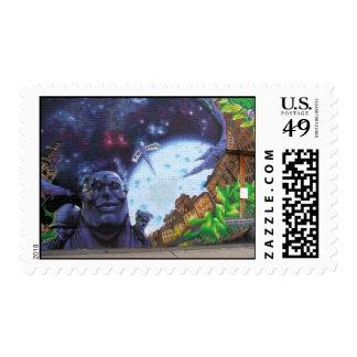 Montreal Graffiti Stamps