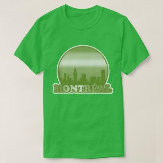 Montréal Green Sun T-Shirt