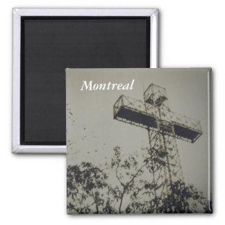 Montreal Historical church cross fridge magnet
