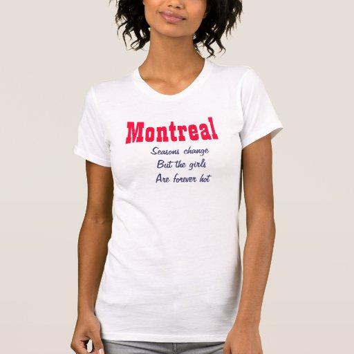 Montreal hot girls shirt
