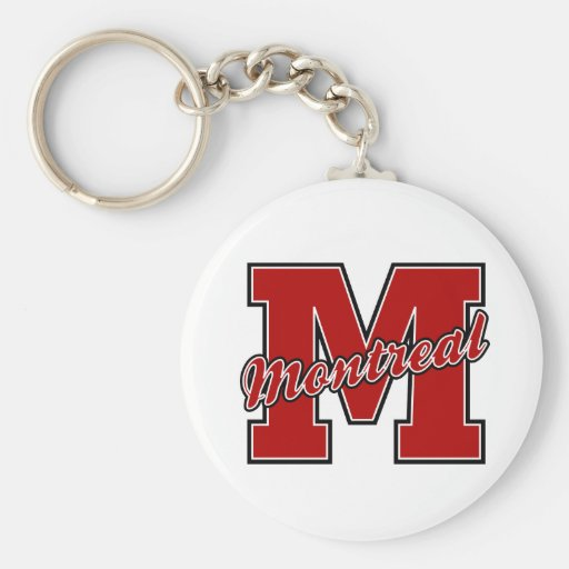 Montreal Letter Keychains