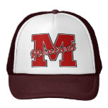 Montreal Letter Mesh Hats