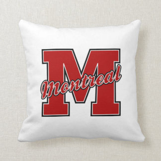 Montreal Letter Pillows
