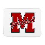Montreal Letter Rectangular Magnet