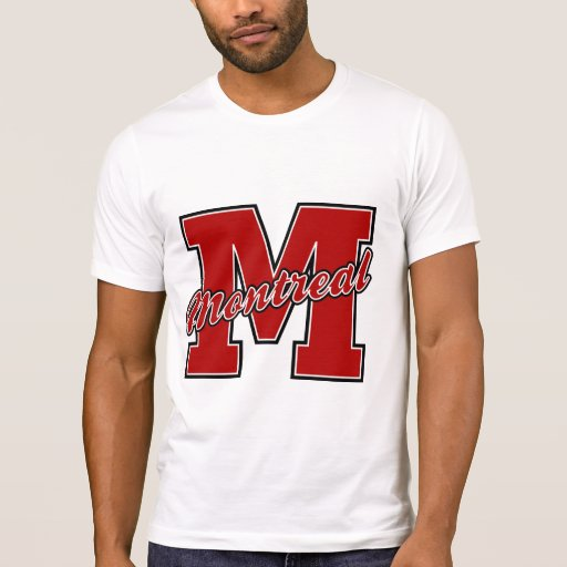 Montreal Letter T-Shirt