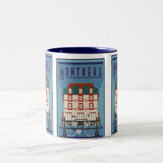 Montreal-Mug Two-Tone Coffee Mug