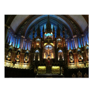 Montreal Notre Dame Basilica Postcard