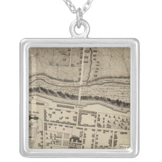 Montreal or Ville Marie Square Pendant Necklace