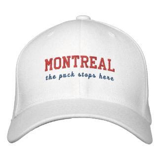 Montreal que el duende malicioso para aquí gorras de béisbol bordadas