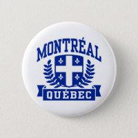 Montreal Quebec Button