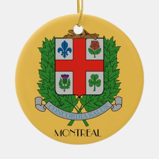 Montreal*, Quebec Christmas Ornament